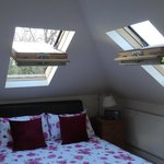 We loved sleeping under the open skylights!