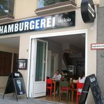 Hamburgerei Foto