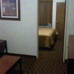 Durchgang Wohnzimmer/Schlafzimmer (Deluxe Suite)