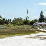 The beach path