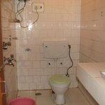 Washroom in Room No.313 at Tandin