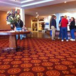 Spacious Lobby to gather for events like our day at Niagara Falls