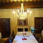 Domaine de Rhondes - breakfast table