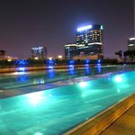 Amazing pool---like an aqua cube of water