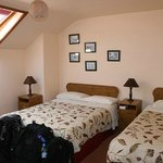 Room with twin beds (though double was booked)