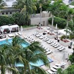 View of Ritz Carlton Coconut Grove Pool