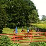 Beer garden packhorse inn