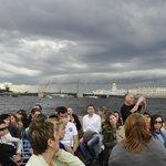Excursión en barco por el río Neva