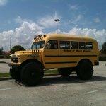 School of hard knocks schoolbus.