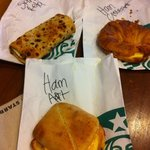 $12 for breakfast at Starbucks: first and last time!