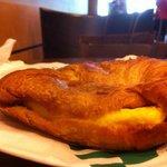 Boo hoo ham and cheese breakfast crossaint:( Not worth $4