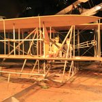Actual Wright Bros plane at Air Force Museum
