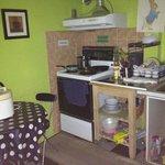 small kitchen on 2nd floor
