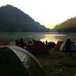 Sunrise at RanuKumbolo