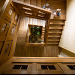 escalier villa mandarine