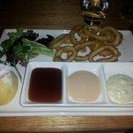 yummy hand rolled calamari