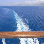 Leaving Crete for Rhodes...