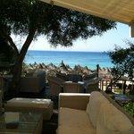 Loungebereich bei der Beach Bar