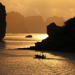 Sunrise at Ha Long Bay