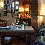 Villa Sestilia Guest House - Trattoria Casa Masi, un romantico tavolo nella Sala del Museo