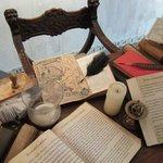 De schrijftafel van een kapitein