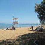 La spiaggia a 50 metri dall'Hotel