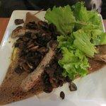 Galette l'averse (menu du soir)
