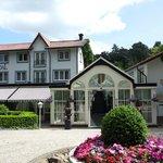 Vooraanzicht Villa Vennendal