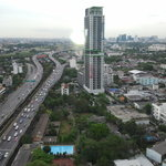 вид из отеля Grand Tower Inn Rama VI-21 этаж фото0311