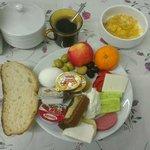 الفطور الصباحي مضمن