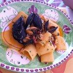 Paccari con baccalà e cozze esageratamente buoni