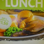 Our Great Value Sunday Lunches.