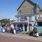 View of Jon Bouy's Chippy in Newquay