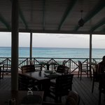 View from the bar / restaurant