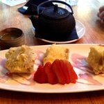 Cheese Cake tempura (lovely)