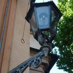 Working gaslamp in Wroclaw