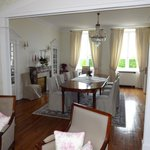 The dining room, where you will have a good breakfast!
