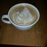 Amazing coffee art at Coffeevolution