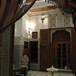 L'ingresso del Riad
