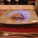 la Chanterelle - crepes suzette