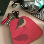 cute keys with a different bird for every room
