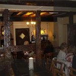Diners at The Goats Head Inn Abbots Bromley- Father's Day-2013
