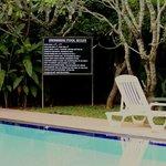 Hotel Sunflower Pool area