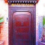 La magnifique porte d'entrée