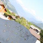 Terrasse Restaurant Gastronomique La Croix de Savoie Les Carroz grand-massif