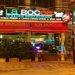 La Bocca from outside
