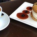 Dessert (Eis + Cookie)