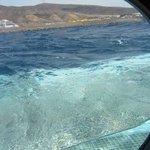 Surfacing - getting a view of sub and mountains