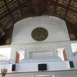 Lofty ceiling