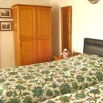 bedroom area lower apartment